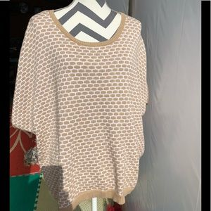 Short-Sleeved, Tan Sweater -size 18/20 Lane Bryant